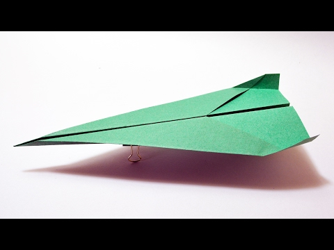 How to make a Paper Airplane that Flies 10000 Feet - PAPER Airplane that Flies Far