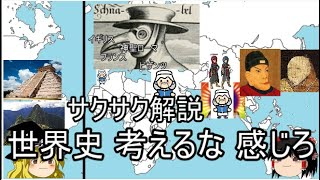 まとめ①古代文明~14世紀【ゆっくり解説・サクサク世界史】 thumbnail