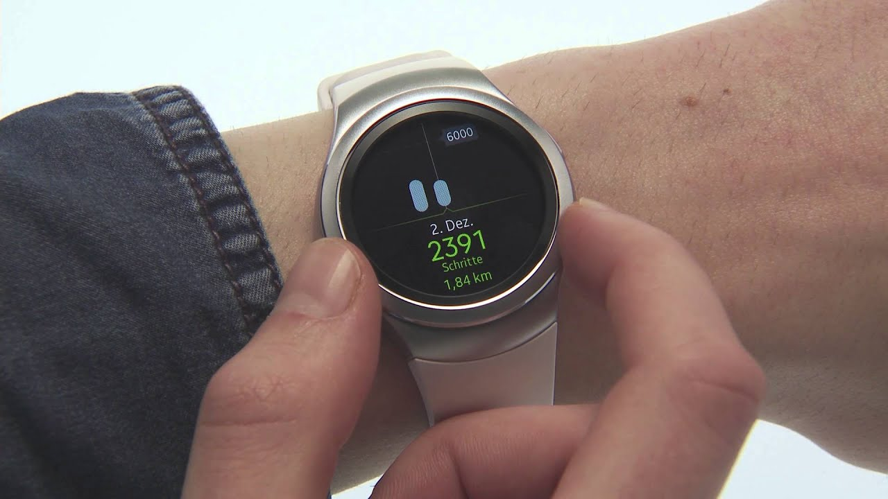 Samsung Gear S2 S Health Funktionsübersicht Youtube