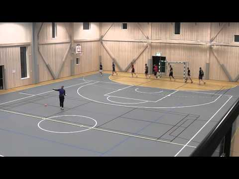 Veitvet RS futsal training - ball control and protection