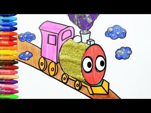 Tren Nasıl çizilir? - Çizelim Boyayalım