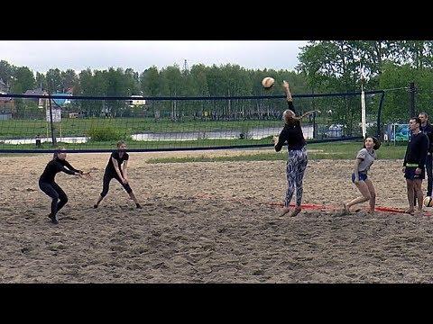 Пляжный волейбол. Девушки. Игра за 1 место