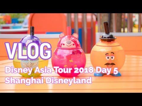 VLOG: Disney Asia Tour - Day 5 (Shanghai Disneyland)