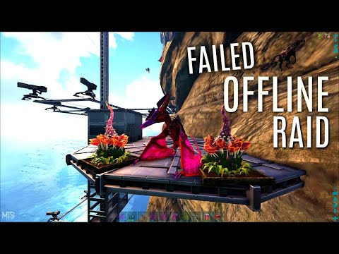 they-tried-to-offline-us!---base-defense---mts-pvp-s4---ark-survival