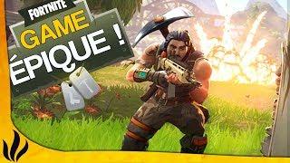 VOUS NE VERREZ JAMAIS UNE GAME AUSSI ÉPIQUE ! (Fortnite: Battle Royale) thumbnail