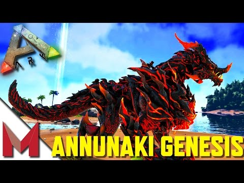 Dragon God Mod - Elder Drago Godling Tame - ANNUNAKI GENESIS - ARK: SURVIVAL EVOLVED GAMEPLAY! S2E11