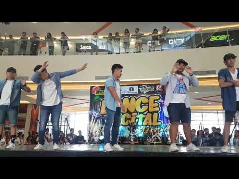 HipHop Community's JhelRam Dance Recital Performance @Robinson'sPlaceTacloban