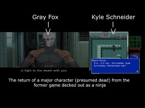 Similarities Between Metal Gear 2: Solid Snake And Metal Gear Solid
