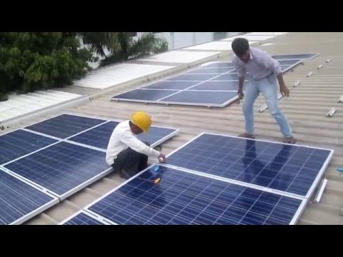 NMS Solar - ALF Engineering Pvt. Ltd - Rooftop Solar PV System 100KWp