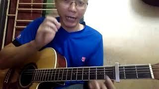 Hướng dẫn guitar: Mất anh em có buồn. Đoạn quạt điệp khúc.
