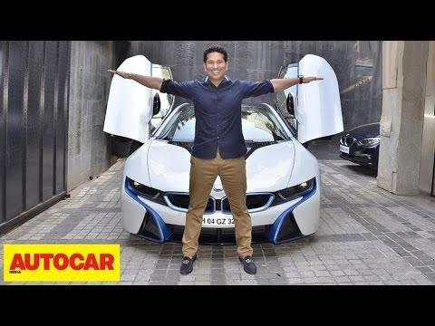 Sachin Tendulkar His Bmw I8 Autocar India Youtube
