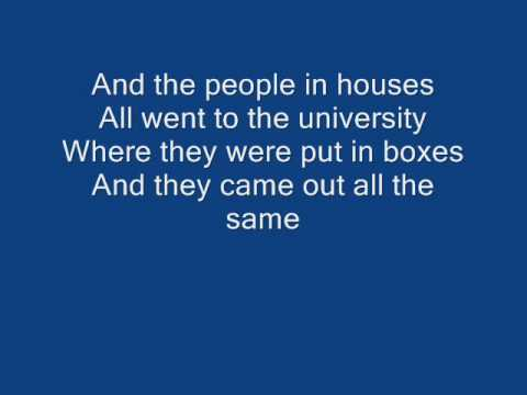 Rise Against Little Boxes cover with lyrics YouTube