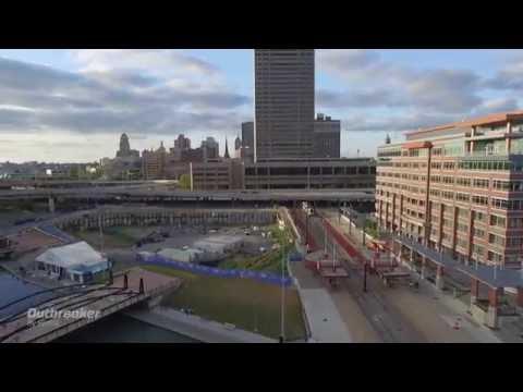 Blitz Body at Canalside in Buffalo, NY