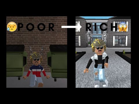 Poor To Rich Roblox Bloxburg Story