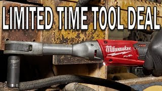 Best Tool Deals (LIMITED TIME) Milwaukee M12 Fuel Ratchets & Die Grinder