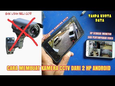 Cara Membuat Kamera CCTV Dari Ponsel Android
