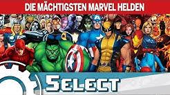 Die 5 mächtigsten Marvel Helden