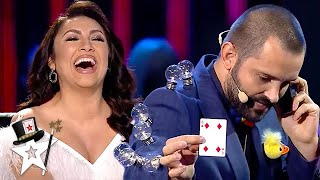 Comedy Magician Gets Judges Laughing With His AMAZING Magic! | Magicians Got Talent