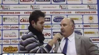 19-12-2010: Intervista a Radames Lattari nel post Vibo-NewMater