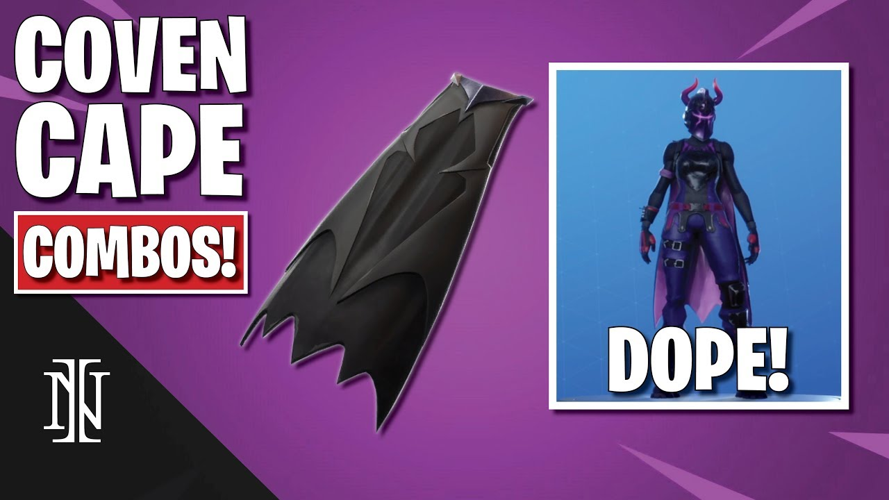 Fortnite Cape coven cape combos in fortnite