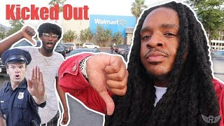 Trying To Get KICKED OUT of Walmart 3 **Cops Called**