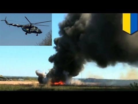 Ukraine crisis: Pro-Russian separatists shoot down army helicopter killing 14