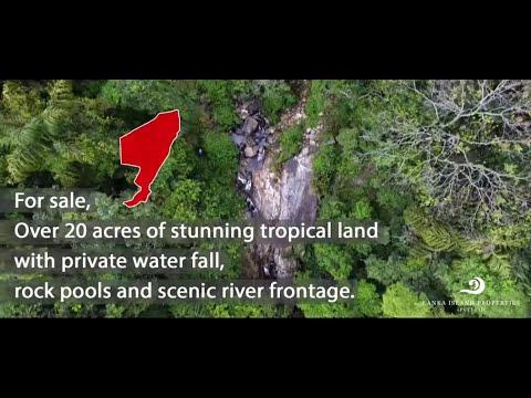 Stunning Rain Forest Land With Waterfalls by Lanka Island Properties