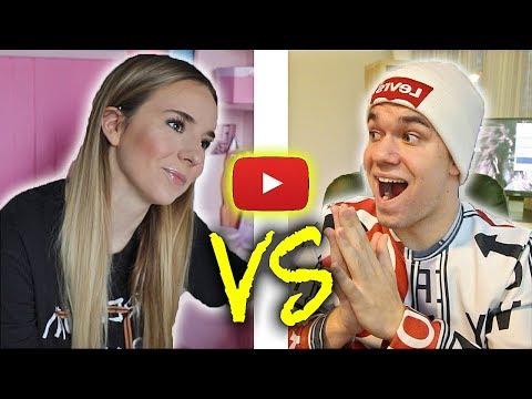 Devojke VS Momci - Na YouTube-u