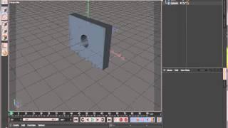 Cinema C4D Boole add subtract objects Tutorial Beginner