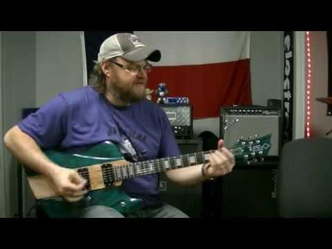 Diamond Guitars DBZ Hailfire for James!