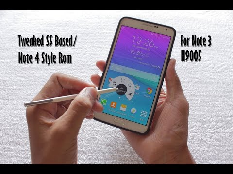 Galaxy Note 4 Rom For Note 3 -- Tweaked S5 Base/note 4 Style
