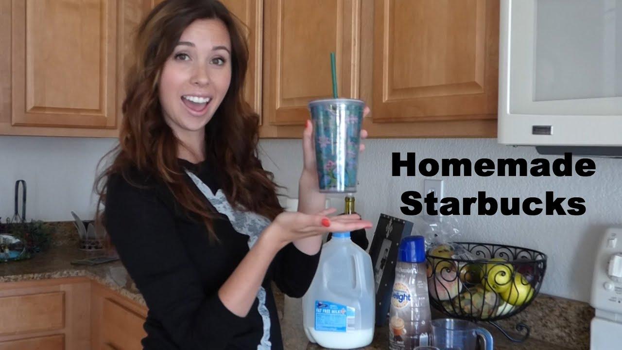 Homemade Starbucks- Iced White