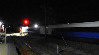 〔4K UHD|cc〕JR東日本・高崎(八高)線:北藤岡駅、「EF81 140」+E257系500番台千マリNB-08編成5B/ 「AT入場配給」シーン。《配9729レ》
