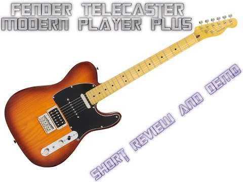 fender telecaster modern player plus with honey burst finish review and short demo youtube. Black Bedroom Furniture Sets. Home Design Ideas