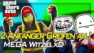 ANFÄNGER GREIFEN MICH AN ! MEGA WITZIG ! XD   Gta 5 Online   IRabbix