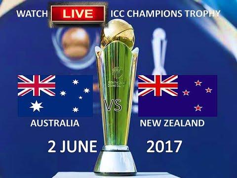 LIVE: Australia vs New Zealand ICC Champions Trophy 2017 - Live Score