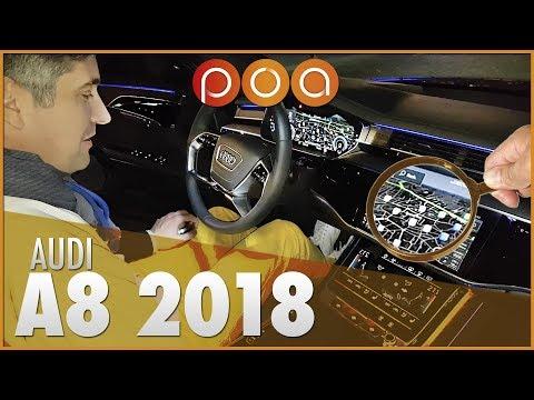 🚗 AUDI A8 2018 : L'intérieur à la loupe avec Docteur Finition