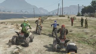 Grand Theft Auto 5 | All Off-Road Races | Part 2 | Quad | Dirt Bike And Truck Racing