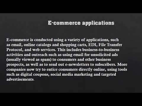 World of E-Commerce