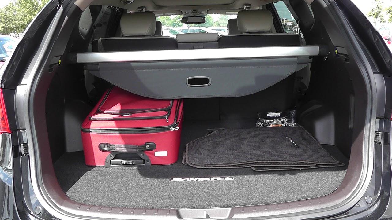 3 Piece Luggage Test 2017 Hyundai Santa Fe Sport 2 0t
