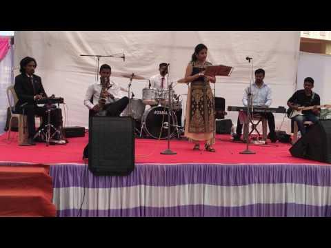 Robin fargose performing Itnisi hasi itnisi khushi... feat rhythm vasaikar.....best performance
