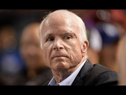 Sen  McCain missing tax reform vote