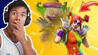 INSANE CLOWN SKINS COME!!! -FORTNITE ENGLISH