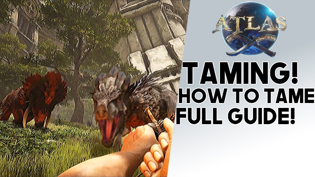 Atlas How To Tame Guide To Taming Any Animal You Want Tigers Lions Horses More Youtube Here is how build taming pens in atlas. atlas how to tame guide to taming any animal you want tigers lions horses more