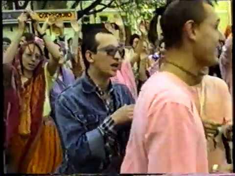 1989 Moscow. Harinama. Class