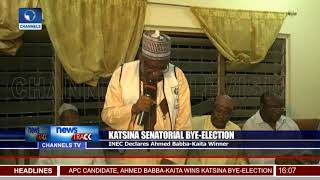 Katsina Senatorial Election: INEC Declares Ahmed Babba-Kaita Winner