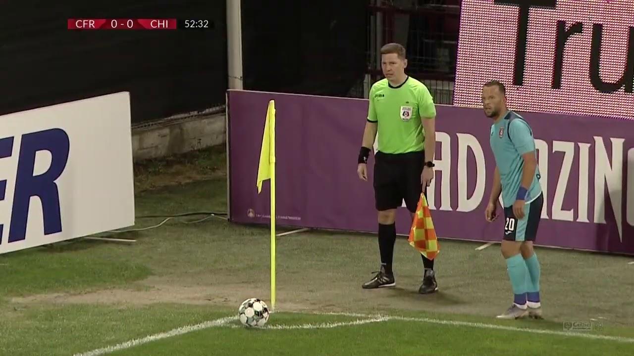 Rezumat: CFR Cluj - Chindia 0-0 Liga 1 Etapa 5