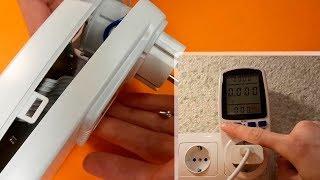 Digital Power Meter Energy - Prise de mesure | Déballage et démontage: wattmètre électronique thumbnail