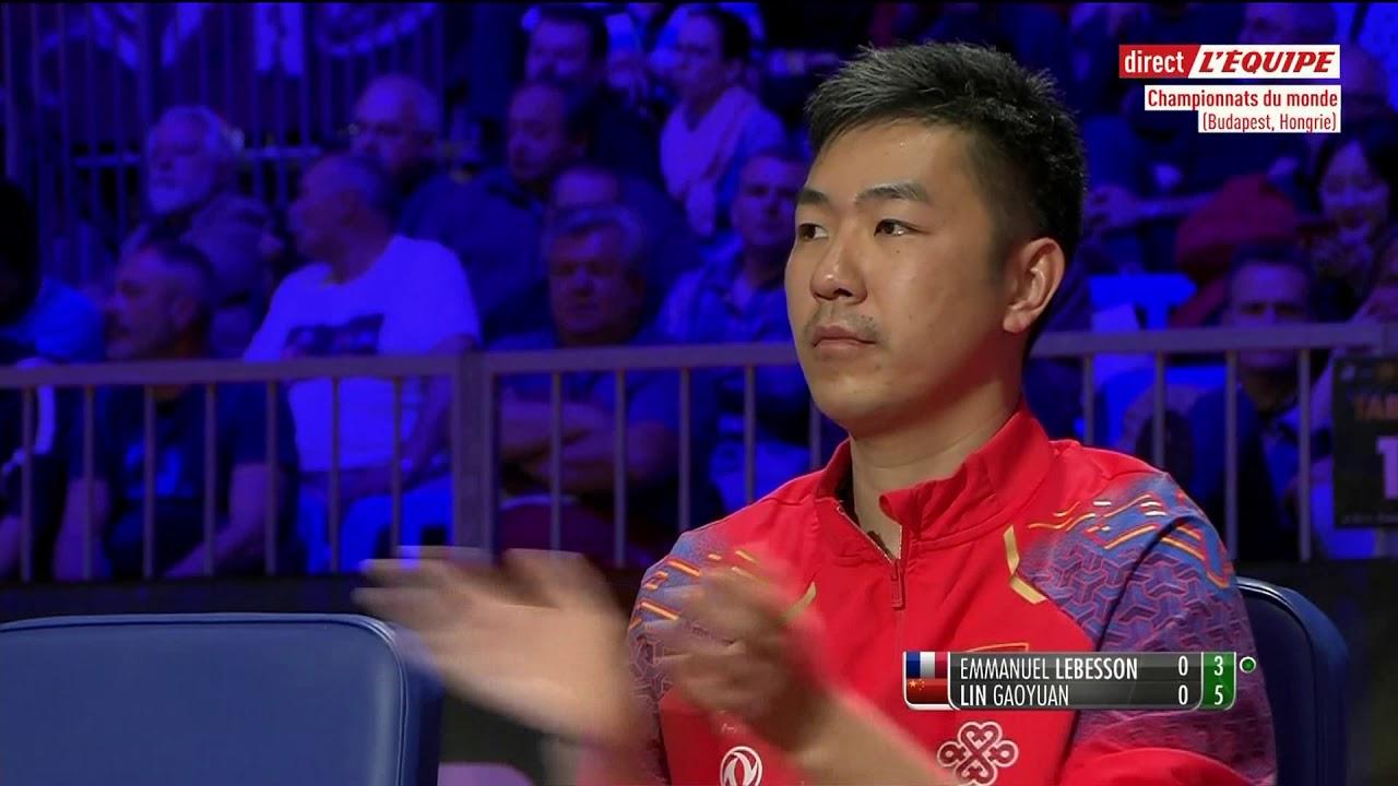 Table Tennis Lebesson Vs Lin Gaoyuan Clash Of Attack Xiv
