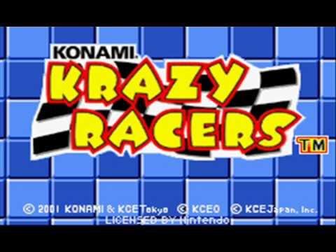 Konami Krazy Racers Music: Sub-Menu